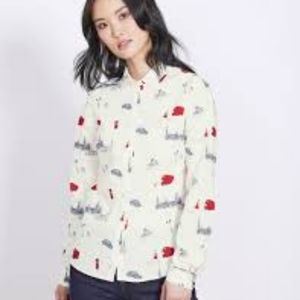 Boden classic button-down shirt. Like new.